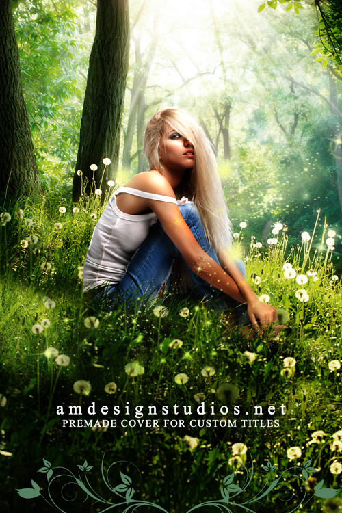 Premade Ebook Cover: 4174 - magical, fairy, paranormal romance, fae, fantasy, urban