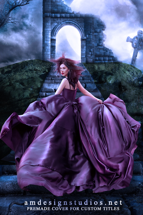 Premade ebook cover 4186 - paranormal, witches, magic, fantasy, fairies, gothic, romance