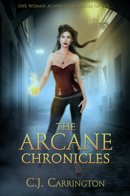 Urban Magic Premade Ebook Cover #4192: tough heroine, urban magic, paranormal magic, contemporary setting, fantasy fiction