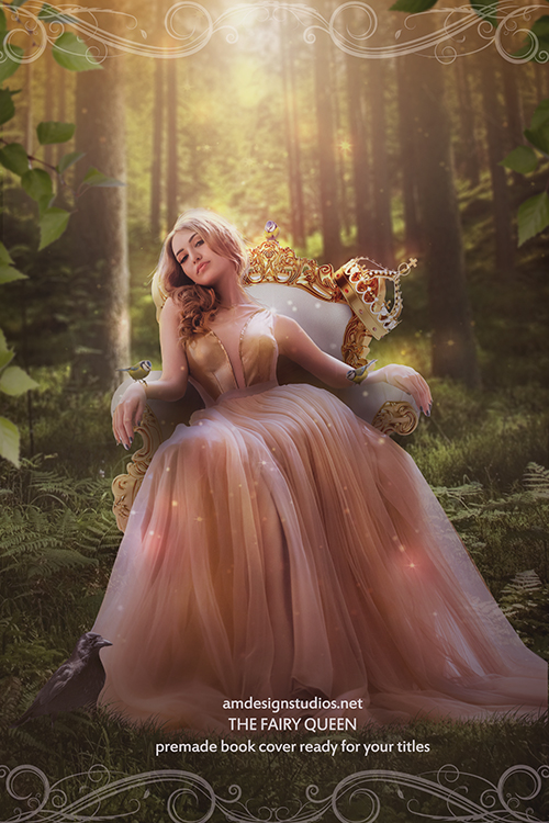 Premade Book Cover Art_4212 - fairy, queen, nature, fantasy, magic, witches, romance