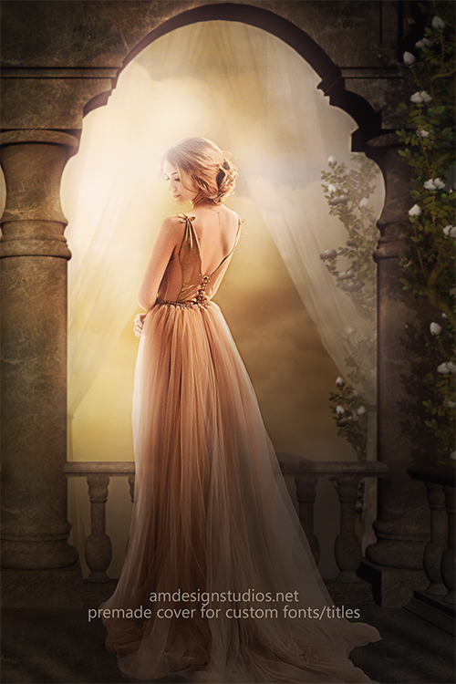 premade_4217 Soft, pretty, romantic fantasy romance ebook cover premade